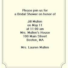 bridal shower invitation wording dancemomsinfo com