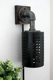 Diy Wall Sconce How To Make Your Own Diy Industrial Sconces Love Create Celebrate