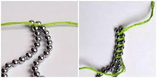 bracelet chain diy images Diy rainbow ball chain bracelet jpg