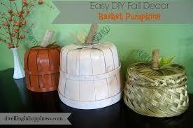 Fall Decor Diy - diy fall decor basket pumpkins hometalk