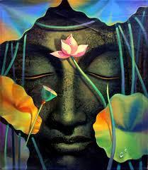 buy art prints of this amazing buddha painting photogaph on