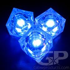 light up cubes blue light up cubes blue led cubes glowproducts
