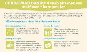 christmas bonus 4 cash alternatives staff won u0027t you for