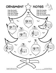 christmas music worksheets worksheets