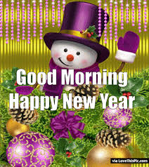 animated good morning happy new year quote pictures photos and