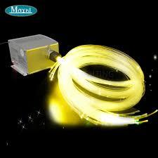 fiber optic light strands maykit 300 strand 3 stecker 3 6m pmma end glow fibre optic lighting