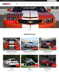 this car dealership wordpress theme includes craigslist
