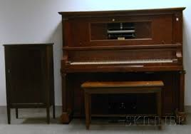player piano roll cabinet search all lots skinner auctioneers