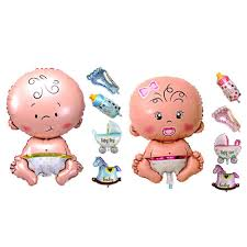 balloon delivery service baby beauty shower foil balloon baby shower boys
