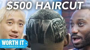 15 haircut vs 500 haircut youtube