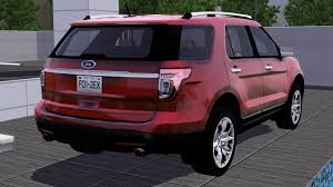 2012 Ford Exploer Fresh Prince Creations Sims 3 2012 Ford Explorer