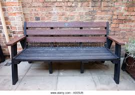Park Bench Made From Recycled Plastic Substitute Bench Stock Photos U0026 Substitute Bench Stock Images Alamy