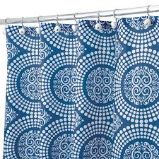 Threshold Medallion Shower Curtain by Nice Abstract Ikat Shower Curtain For Contemporary Interior