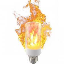 led flame effect fire light bulbs p top e27 led flame effect light bulb 110v 220v flickering emulation