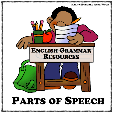Parts Of Speech Worksheet English Grammar Resources Parts Of Speech Half A Hundred Acre Wood