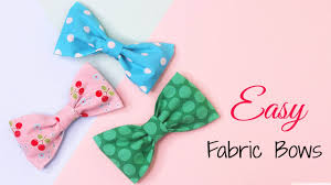 fabric bows how to make fabric bows diy hair accessories diy fabric bow