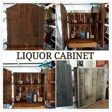 Rustic Bar Cabinet 24 Best Rustic Liquor Cabinet Images On Pinterest Beer Liquor