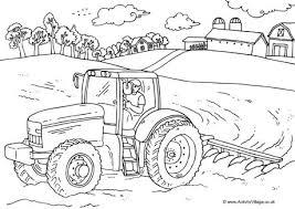 Farm Colouring Pages For Kids Farm Color Page