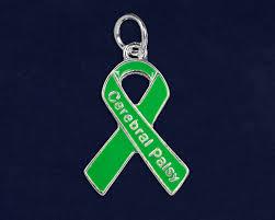 cerebral palsy ribbon cerebral palsy green ribbon charm awareness jewelry gift shop