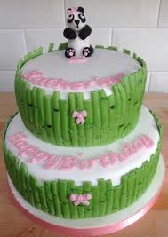 panda and bamboo cake panda made from squires kitchen sugar dough