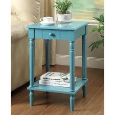 convenience concepts french country end table multiple colors