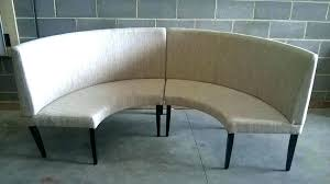 diy curved bench curved banquette seating large size of kitchen table with bench