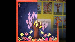 simple fall bulletin board ideas preschool youtube