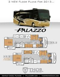 Class A Floor Plans by New Class A Bunkhouse Diesel Pushers With Bunk Beds Announced For