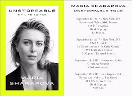 Barnes And Noble Book Signings Nyc Maria Sharapova On Twitter