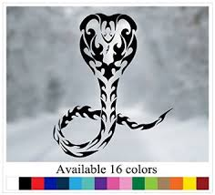 buy osmdecals king cobra tribal decal sticker car truck