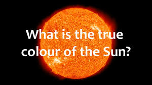 what color is orange what is the true colour of the sun fact friday youtube