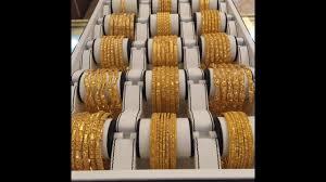 six gold bangles set designs gold jewellery