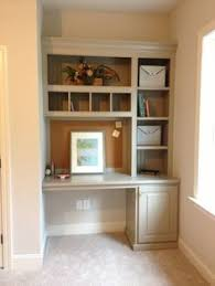 Bookshelves And Desk Built In diy built in bookcase and desk perfect on the opposite wall of