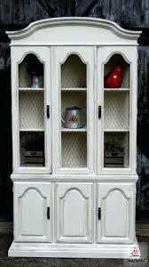chicken wire cabinet door inserts chicken wire furniture country french china cabinet with chicken