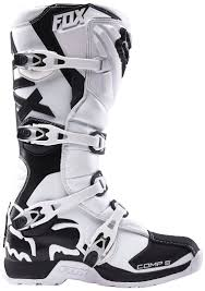 white motocross boots fox wear fox comp 5 mx boots motocross white fox pullover