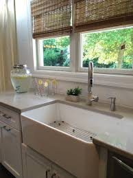 blanco farmhouse sink u0026 faucet tyler u0026 lindsay pinterest