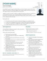 operations manager resume template it finance manager resume finance manager resume template