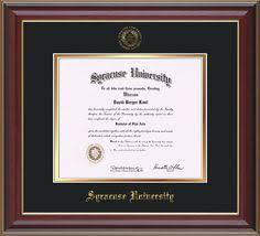 fsu diploma frame florida state diploma frame rosewood w gold lip w