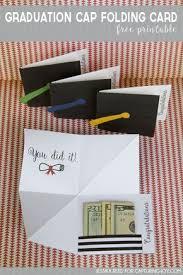 college grad gift ideas graduation cap folding card free printable free printable
