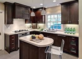 Kitchens With Dark Wood Cabinets Dark Kitchen Cabinets And Light Wood Floors Elegant Dark Kitchen