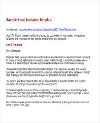 business invitation email template 100 images professional