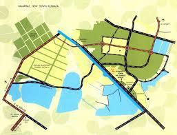 Aquatica Map Location Map Sanjeeva Town Duplex Homes Rajarhat Kolkata