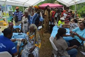 in jamaica adventists offer free health screenings with scores of