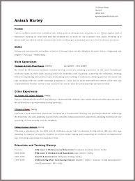 free resume template free cv sle templatesmberproco cv sles free safero adways