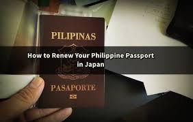 how to renew your philippine passport in japan japan ofw