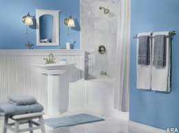 stunning paint colors for bathroom walls using blue paint blue