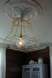 Chicken Wire Chandelier Chandelier Chicken Wire Drum Shade Repin By Pinterest For Ipad