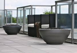 Restaurant Patio Planters by Planters U0026 Firebowls Pot Incorporated