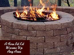 Fire Pit Kit Stone by Jinco Stone Center Marietta Ga Jimco Fire Pit Kit