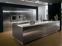 Stainless Steel Kitchen Cabinets Ikea by Kitchen Room Stainless Steel Kitchen Prisma Alberto Torsello 1